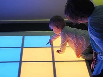 A 16-panel sound and light 
