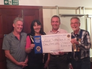 Looe Lions Club 'Fancy Dress Three legged Race'